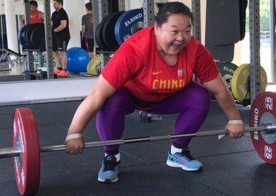 Chinesisches Nationalteam Hammerwurf